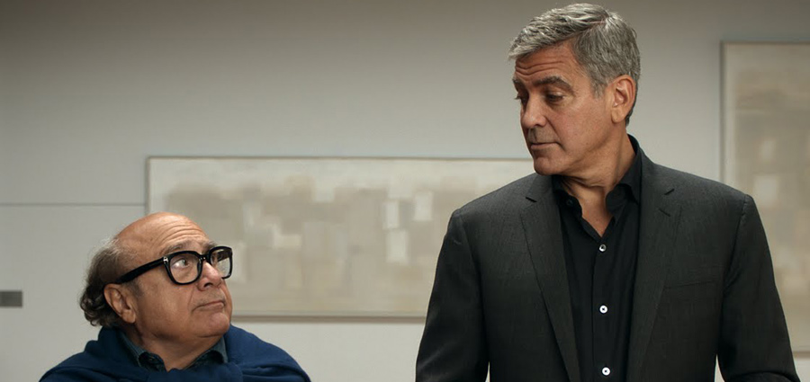 George Clooney and Danny DeVito Nespresso TV Ad