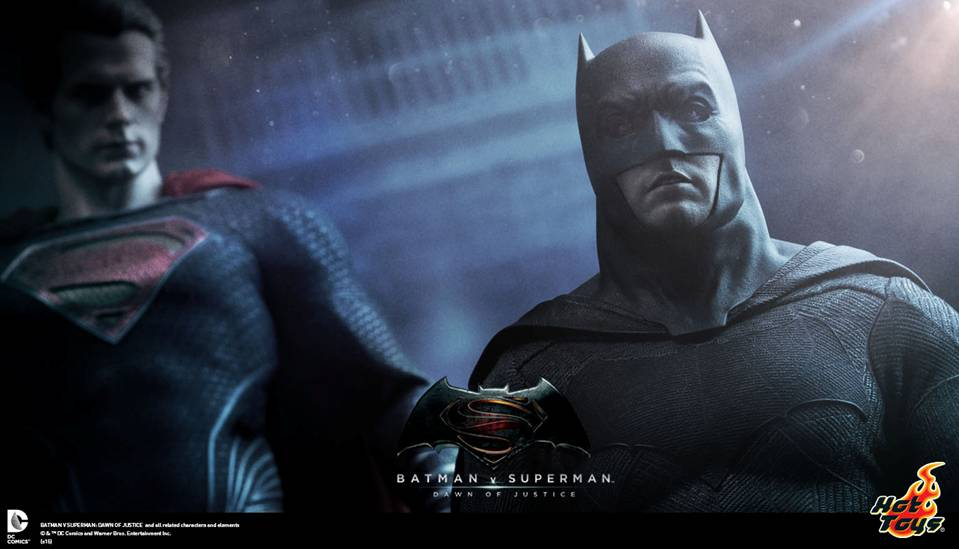 Batman v Superman Hot Toys 1/6th Scale Collectible Figures
