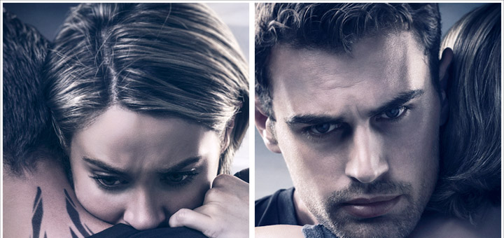 The Divergent Series: Allegiant New Tris and Four Posters