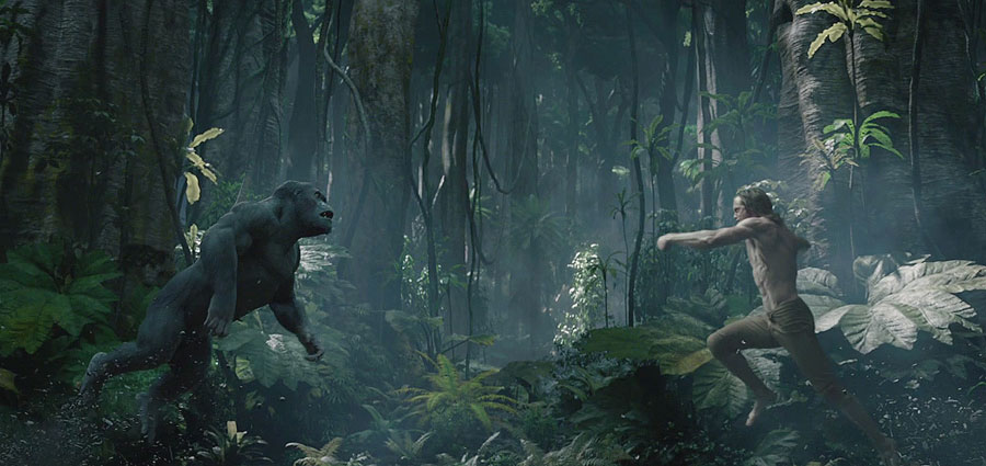 The Legend of Tarzan Trailer, Starring Alexander Skarsgard and Margot Robbie