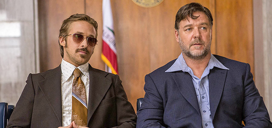 The Nice Guys Red Band Trailer: Russell Crowe and Ryan Gosling Are on the Case