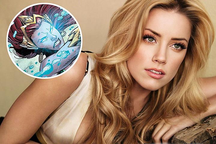 Amber Heard Lands Aquaman Female Lead