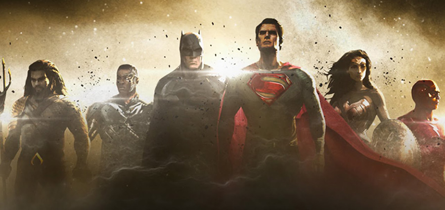 Justice League Movie Concept Art for Aquaman, Cyborg and The Flash; Green Lantern Confirmed