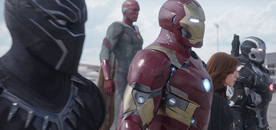 Captain America: Civil War Super Bowl Spot