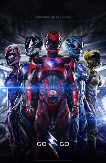Power Rangers movie 2017 poster