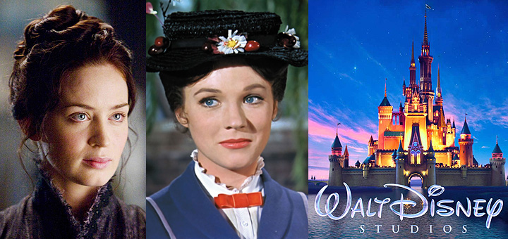 Emily Blunt to Star in Mary Poppins Returns