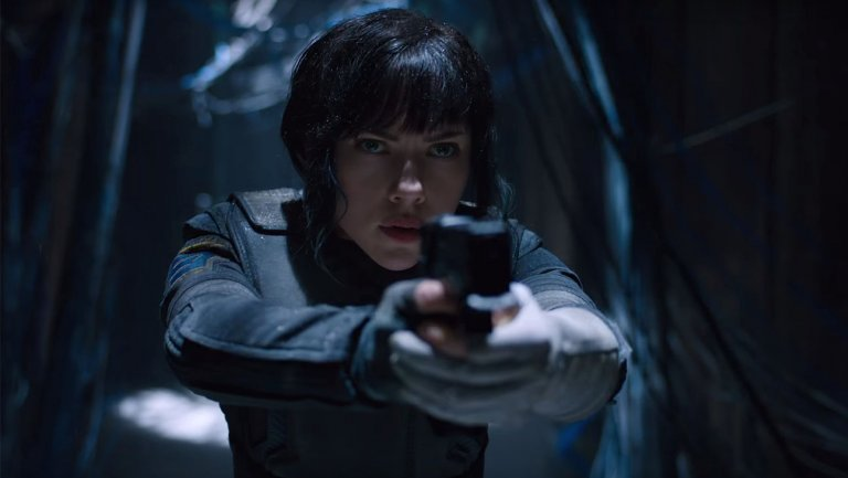 Ghost in the Shell Live-Action Movie Teaser Trailers