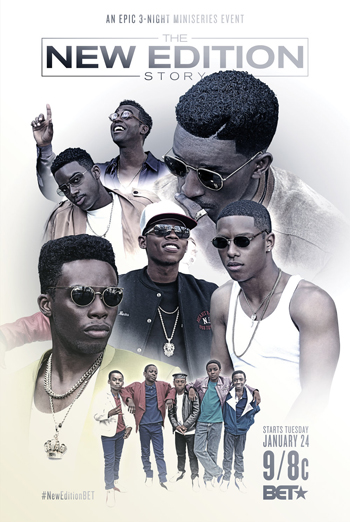 The New Edition Story movie poster