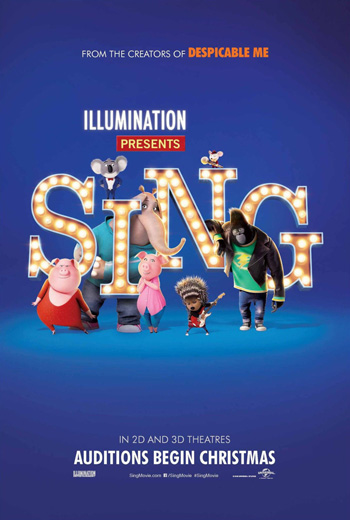 Sing 2 movie poster
