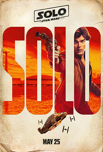 Star Wars: Han Solo movie poster