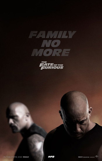Furious 8 movie poster