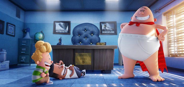 Captain Underpants Movie Trailer