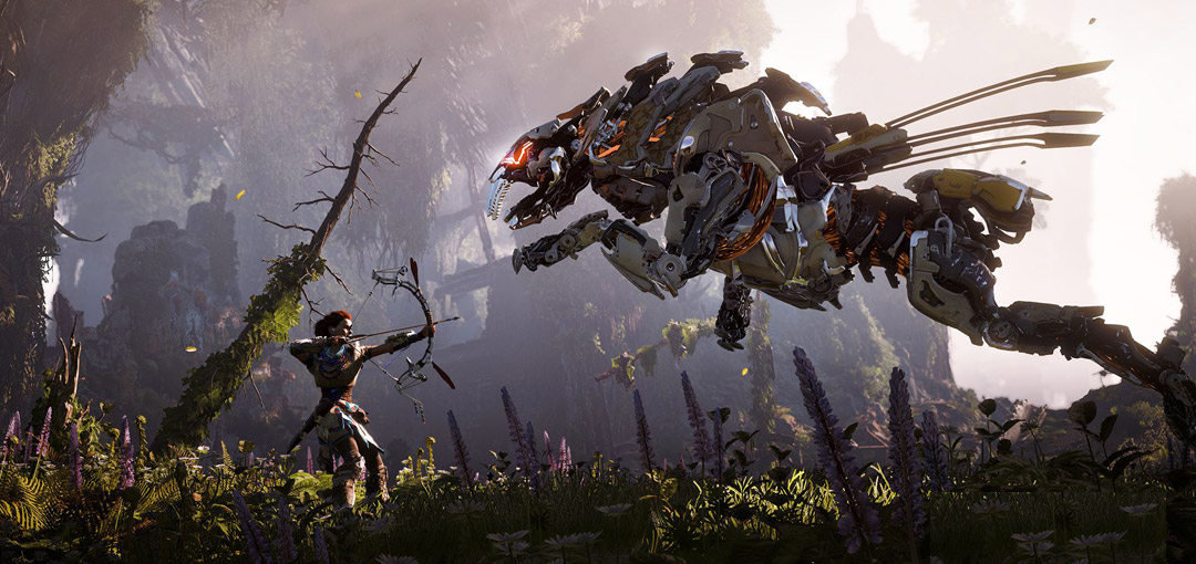 Horizon Zero Dawn Trailers and Gameplay