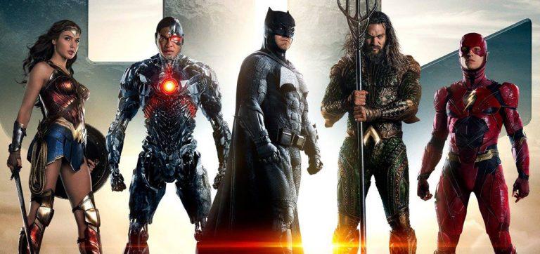 Justice League Movie Trailer