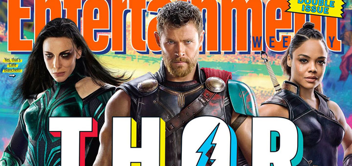Thor: Ragnarok Covers Entertainment Weekly