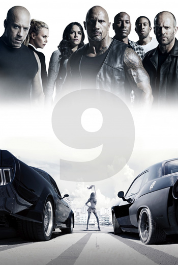 Furious 9 movie poster