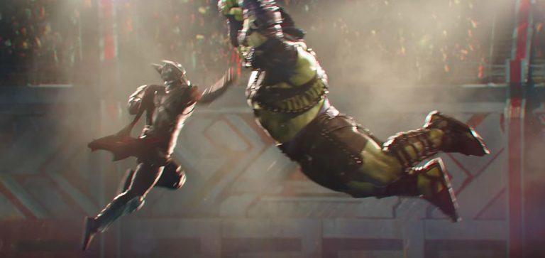 Thor: Ragnarok Trailer: Hulk & Thor Enter Battle Arena