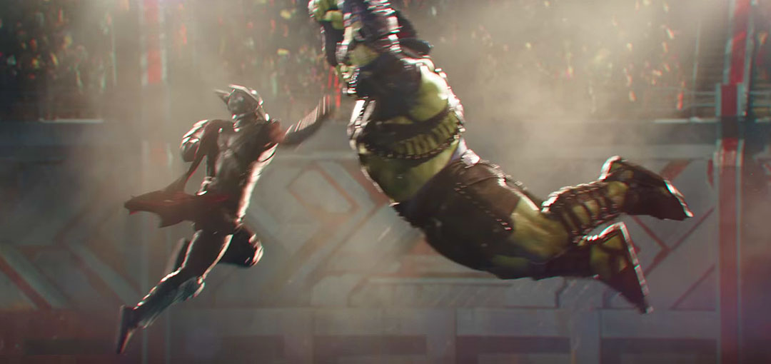 Thor: Ragnarok Trailer: Hulk & Thor Enter Battle Arena