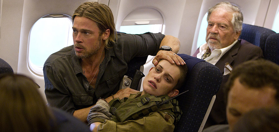 David Fincher to Direct Brad Pitt in World War Z 2