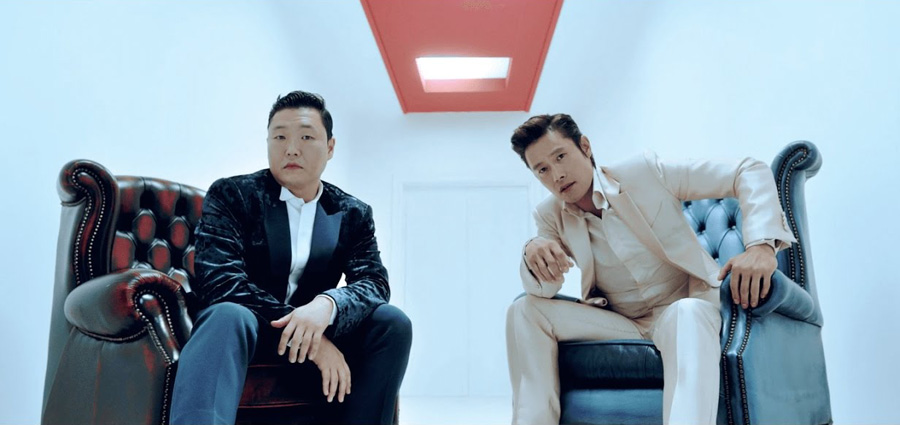 Psy Returns With I Luv It and New Face Music Videos
