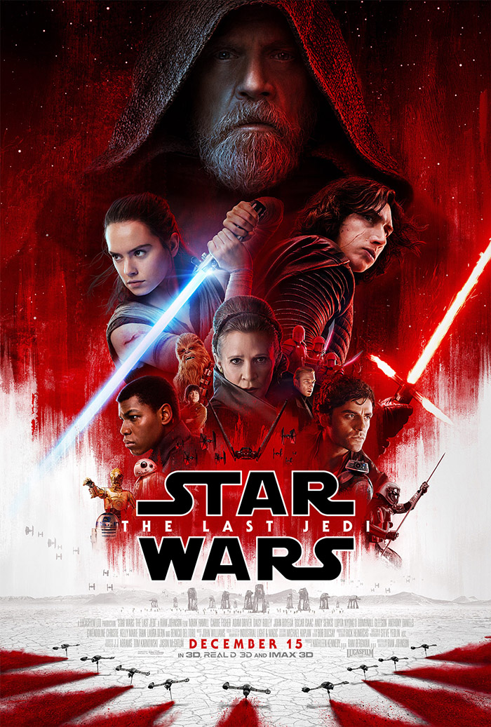 Star Wars The Last Jedi Trailer and Poster Debut