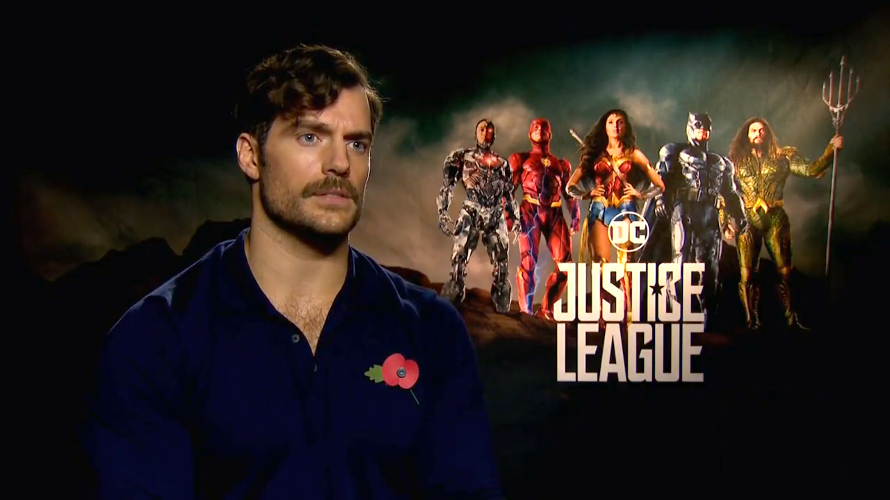 Henry Cavill Justice League Interviews