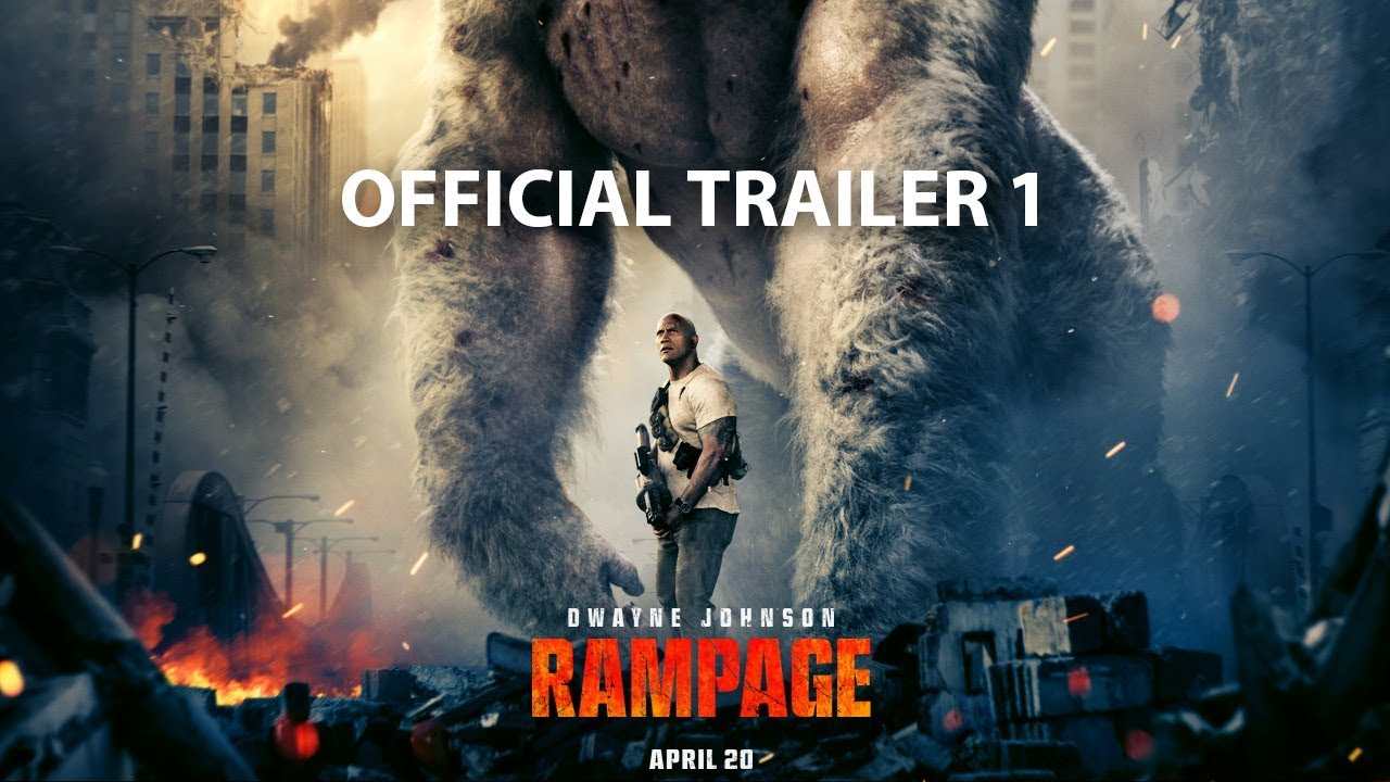 Rampage Trailer: Dwayne Johnson Battles Gigantic Beasts