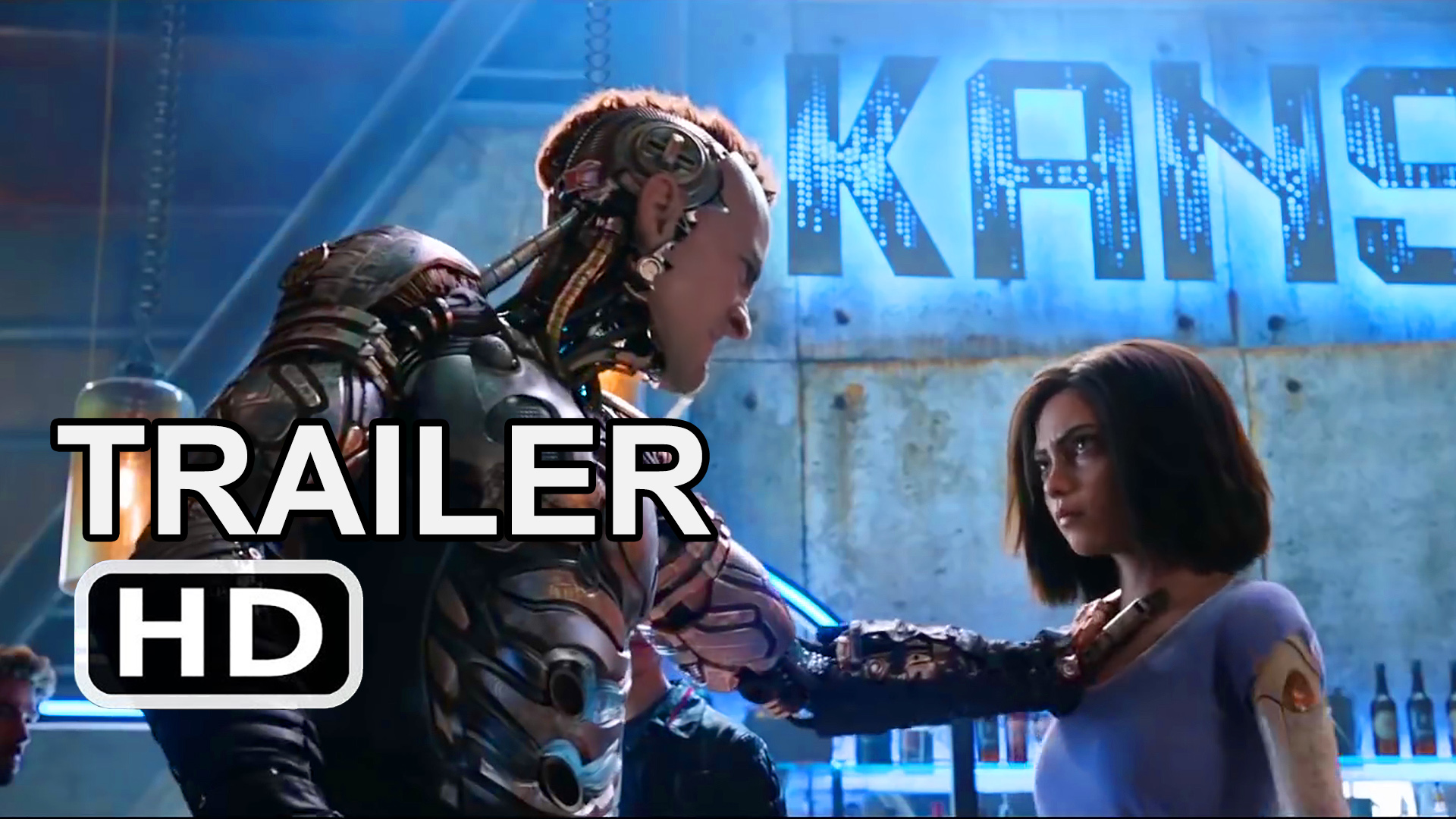 Alita: Battle Angel – Official Trailer
