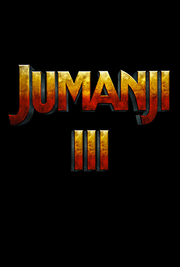 Jumanji 3 movie poster