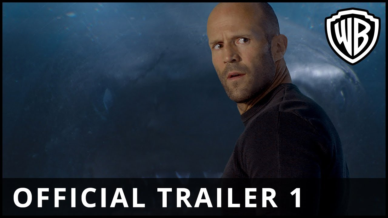 The Meg Trailer & Poster: Jason Statham Takes on Megalodon Shark