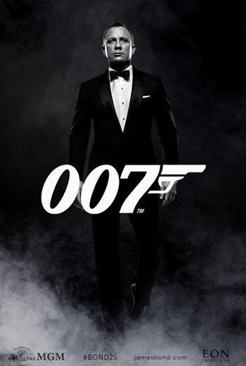 Bond 25 movie poster