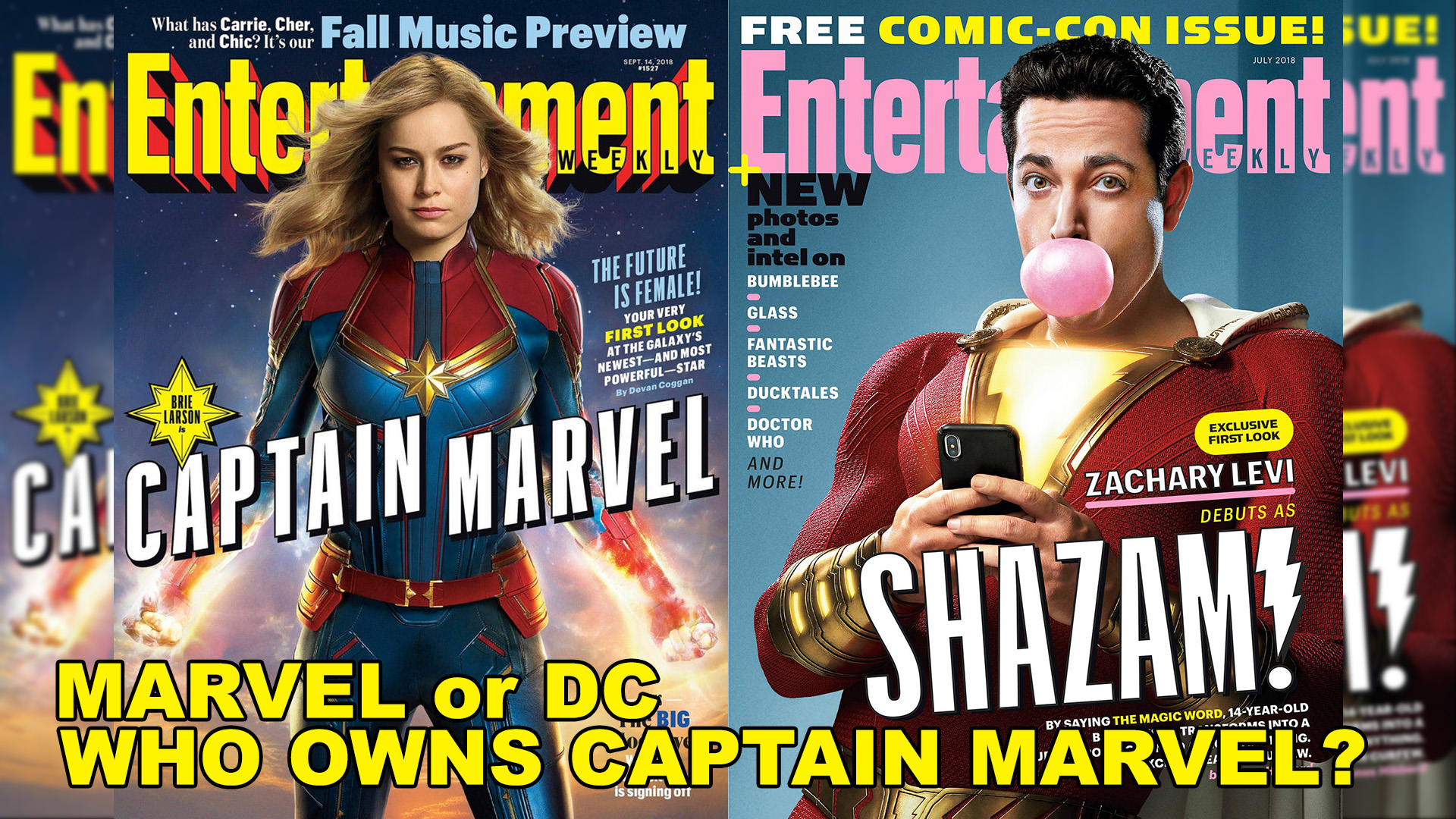 Video: Who Owns Captain Marvel? Marvel or DC