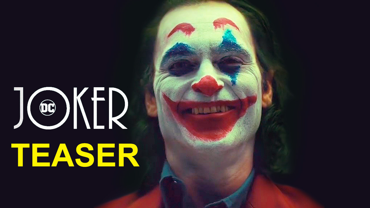 Joker Teaser Shows Joaquin Phoenix in Full Clown Makeup