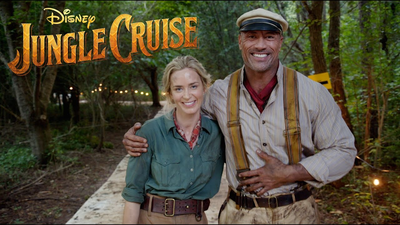 Video: Disney's Jungle Cruise Movie Wraps Filming