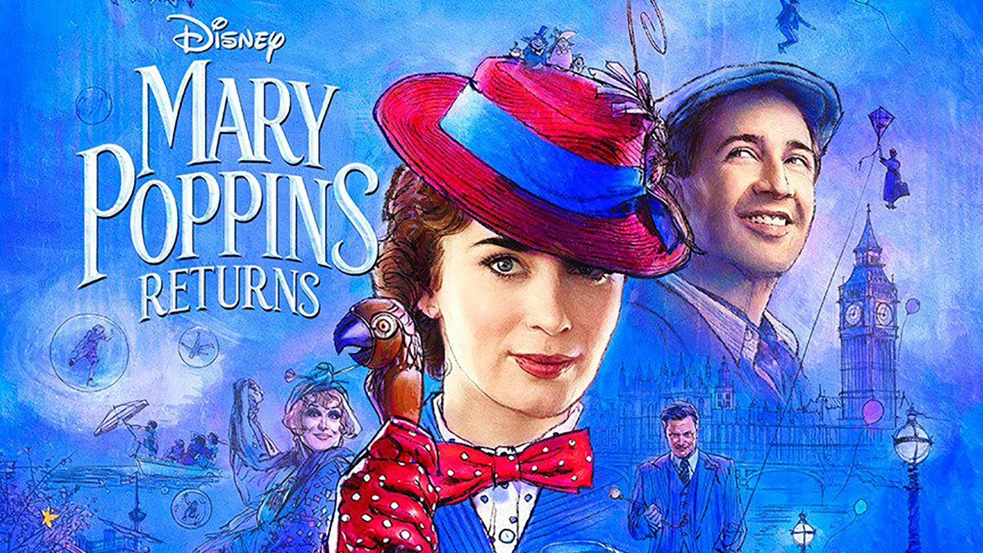 New Mary Poppins Returns Trailer Debuts