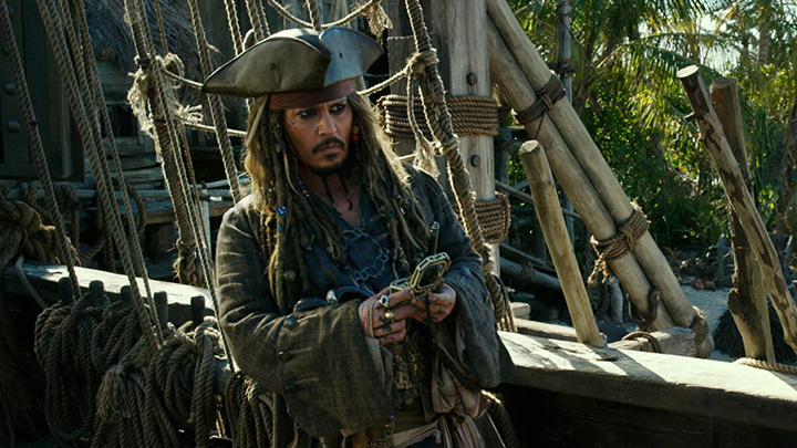 Johnny Depp in Talks for Pirates of the Caribbean 6