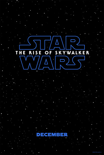 Star Wars Episode 9 movie poster