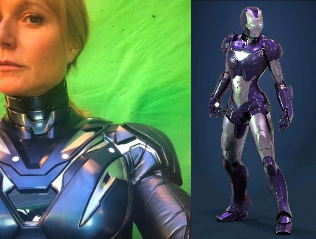 Gwyneth Paltrow Rescue Armor