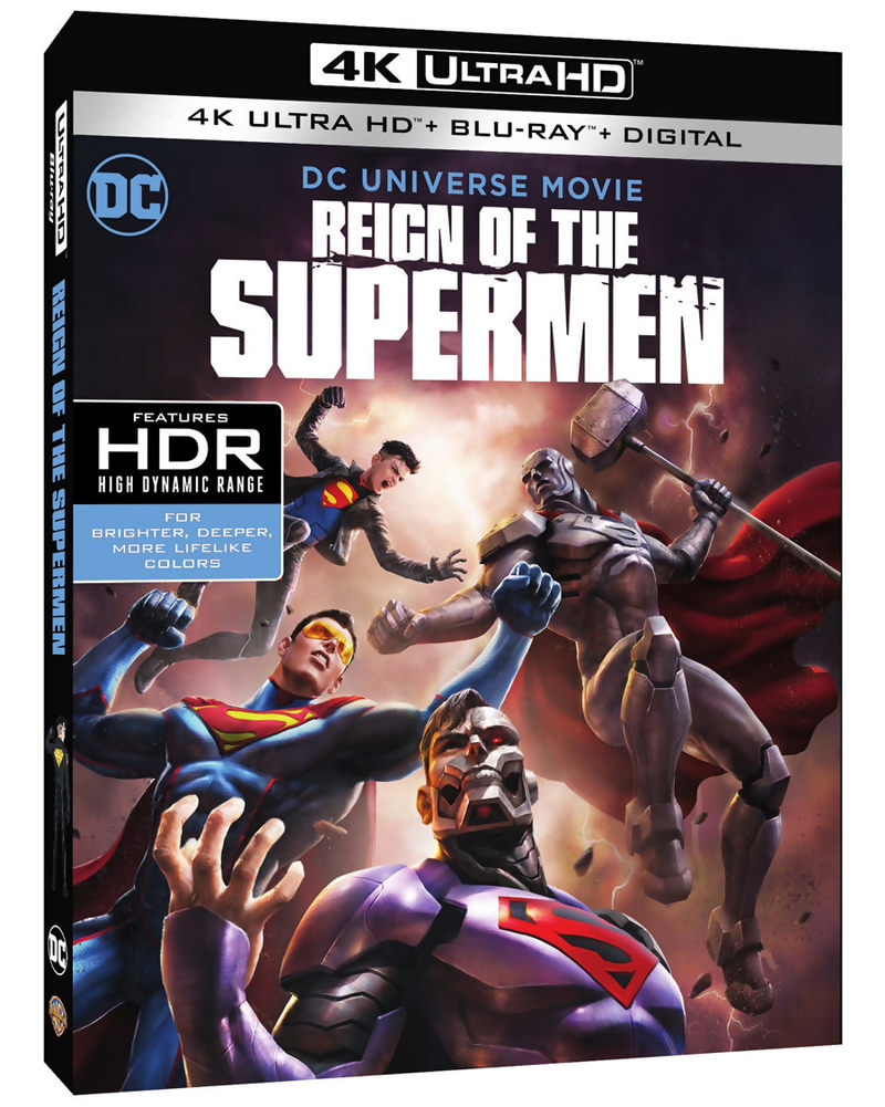 Reign of the Supermen 4K Blu-ray
