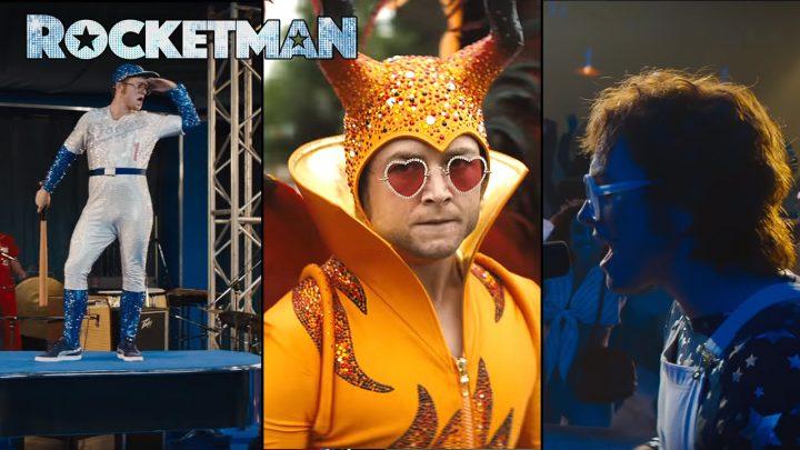 Rocketman Trailer Taron Egerton Stars in Elton John Biopic