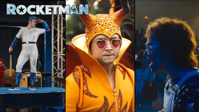 Rocketman Trailer: Taron Egerton Stars in Elton John Biopic