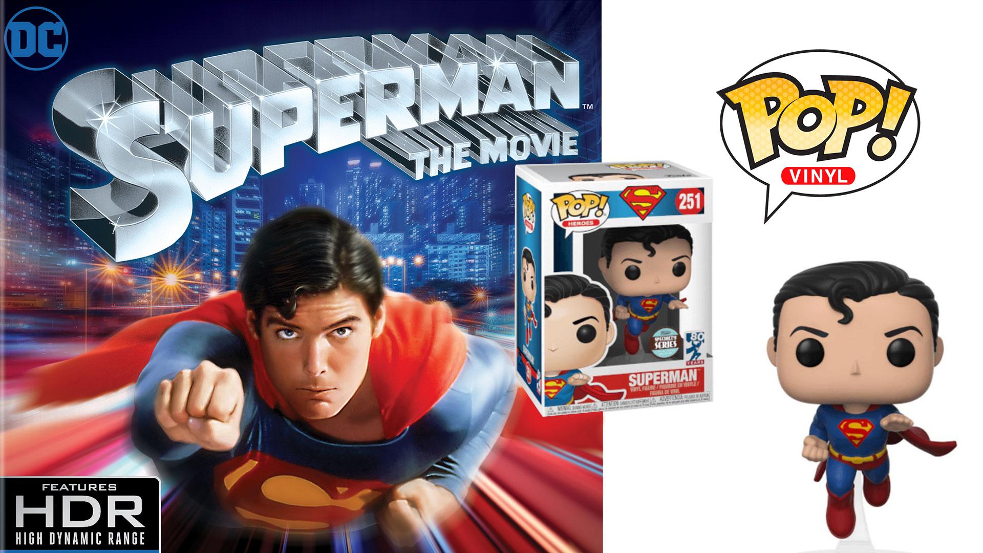 Superman The Movie 4K UHD Blu-ray