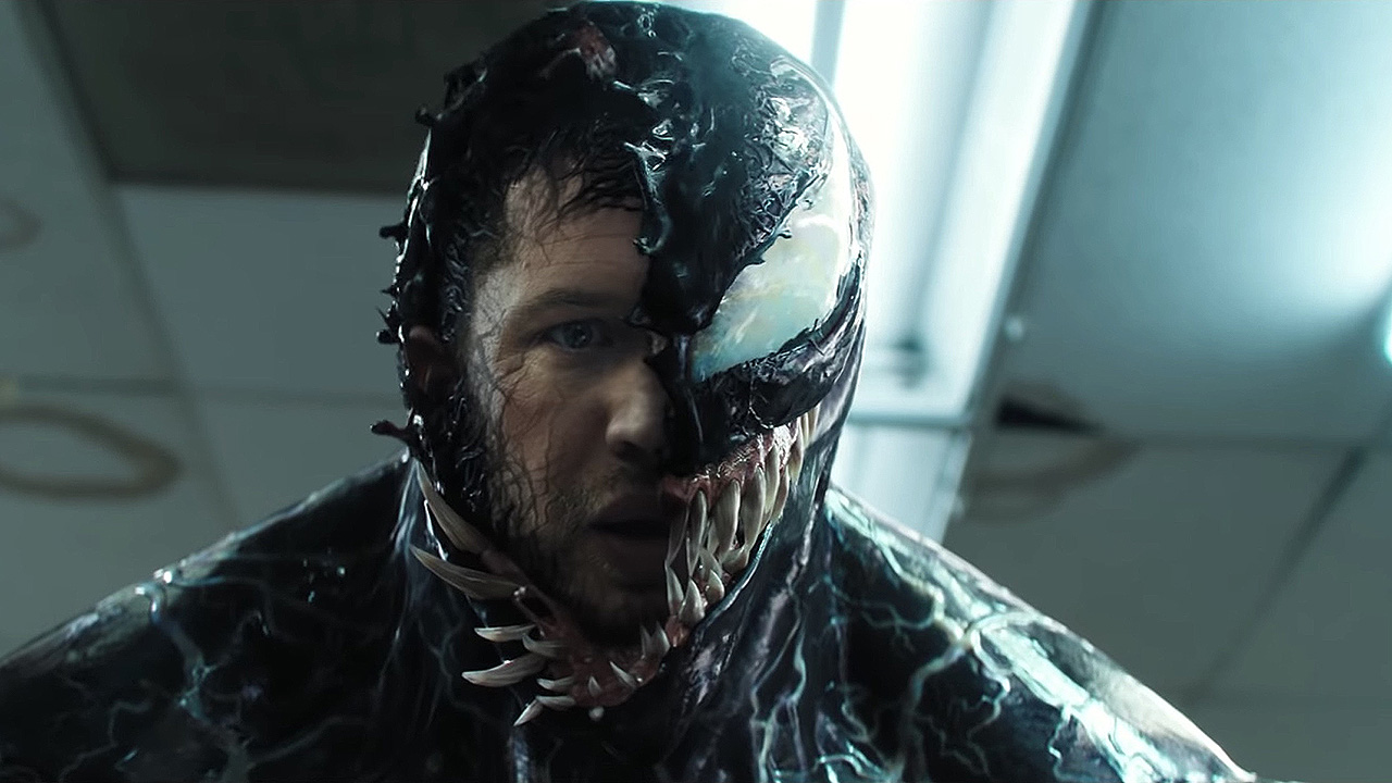 HOW TO DRAW VENOM FACE IN EASY WAY  DRAWING VENOM STEP BY STEP