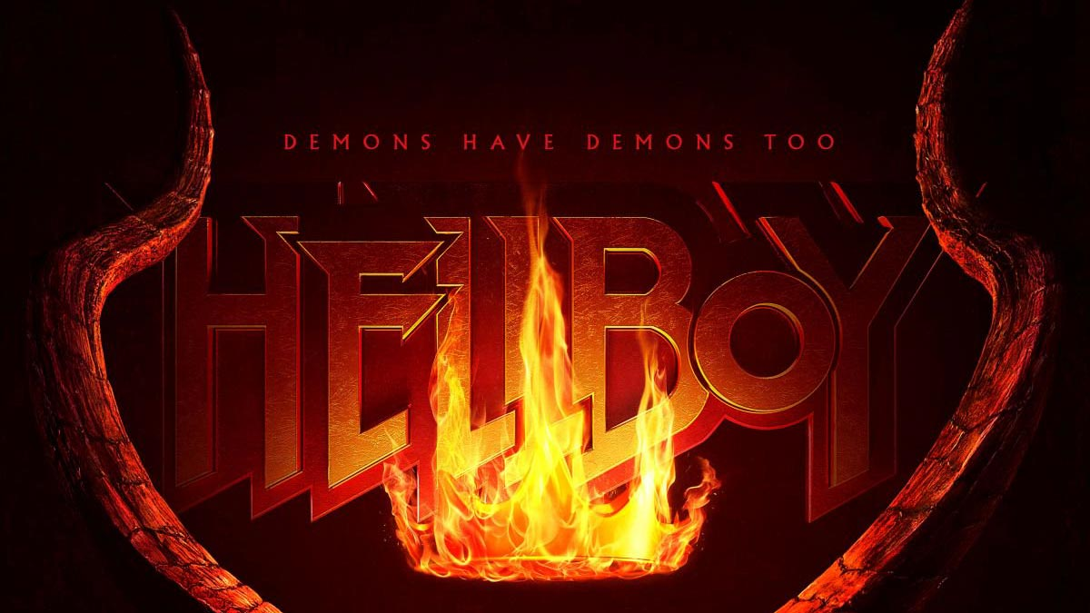 Hellboy 2019 Poster Released, Trailer Announced