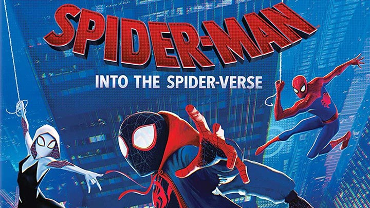 Spider-Man: Into the Spider-Verse Blu-ray, 4K, DVD