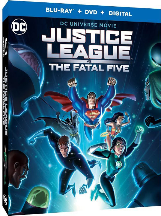 Justice League vs The Fatal Five Blu-ray