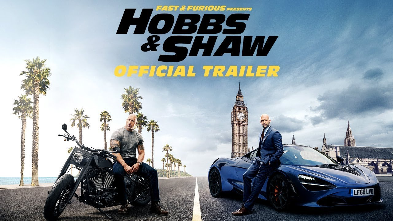 Hobbs and Shaw Trailer is Here!