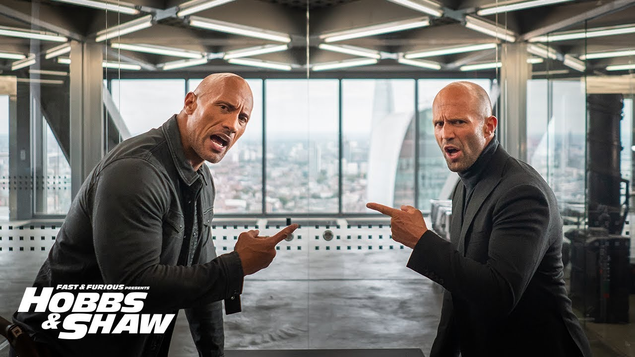Hobbs & Shaw Super Bowl Spot Gets Fast & Furious