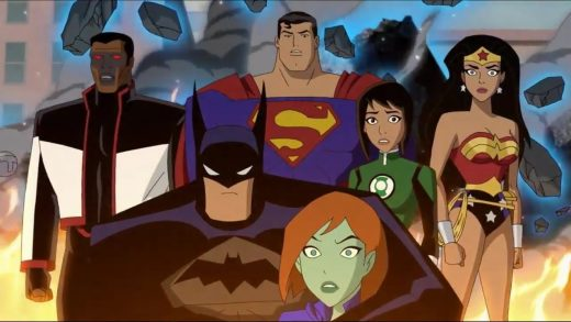 Justice League vs The Fatal Five movie