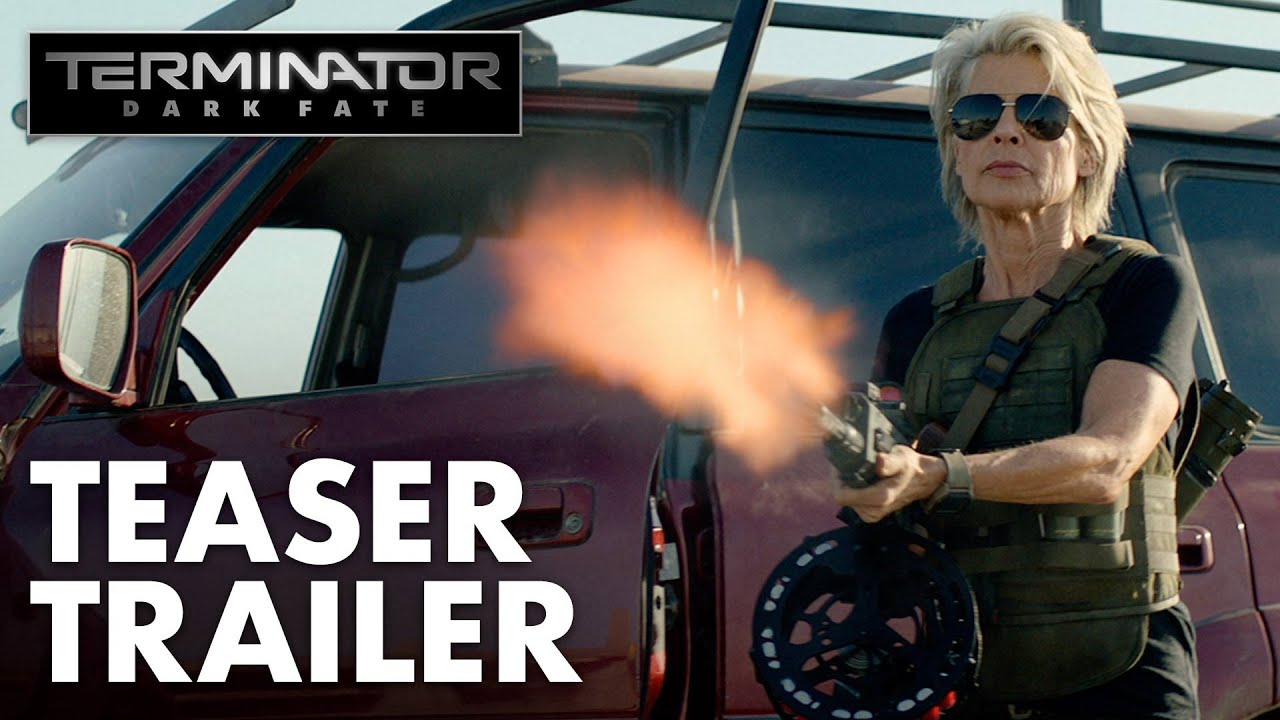 Sarah Connor Returns in Terminator: Dark Fate Teaser Trailer